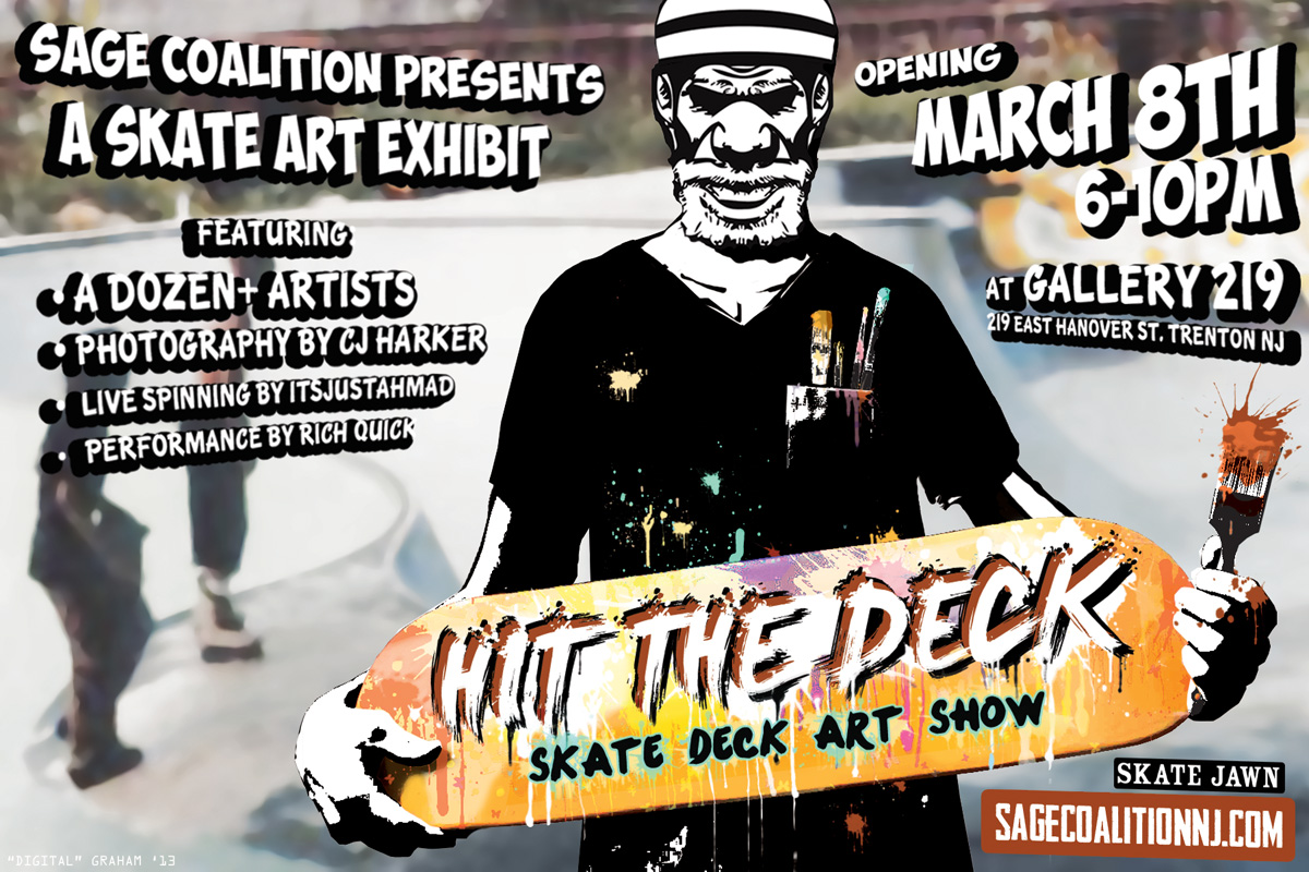 Hit The Deck 2013 Hit The Deck a Skate-deck